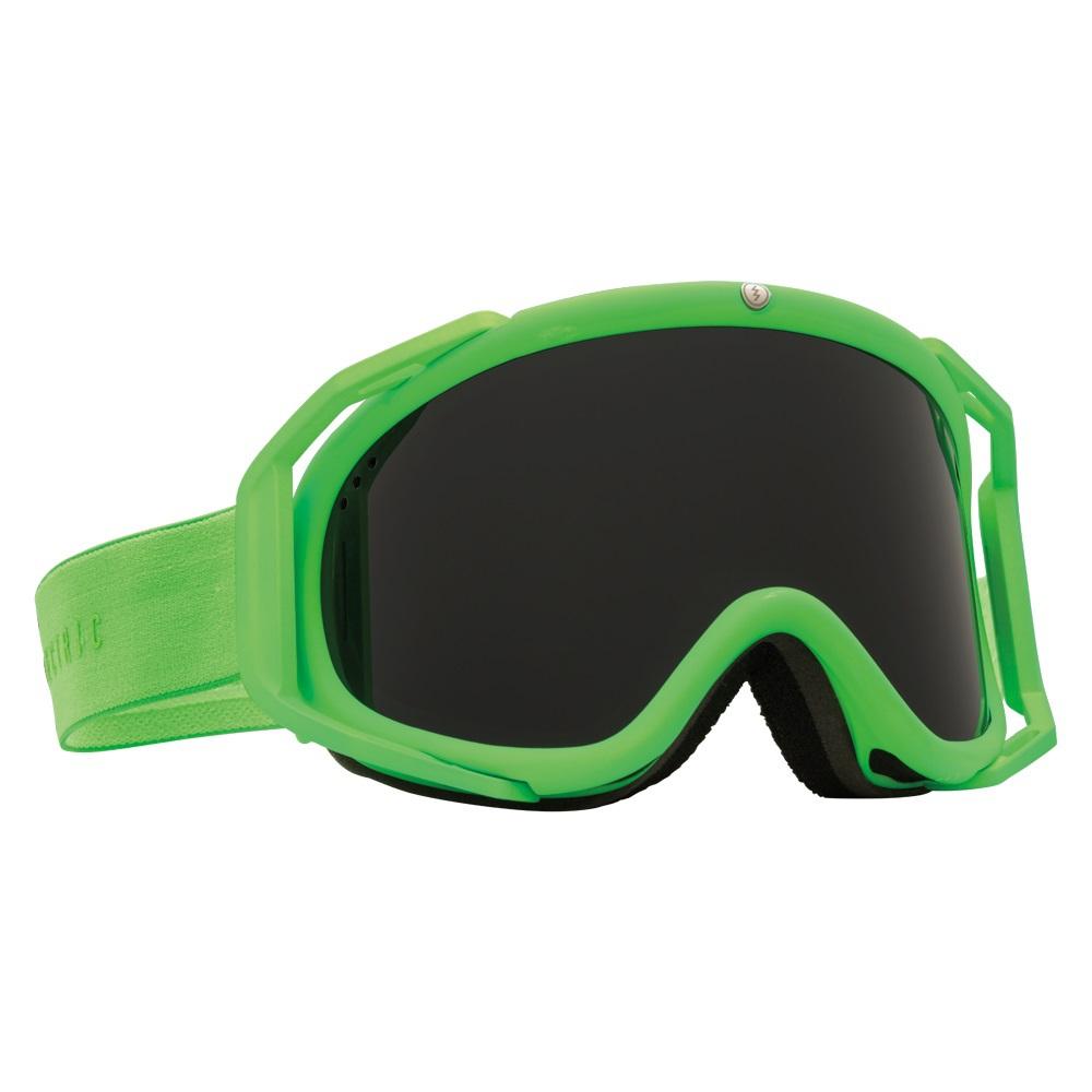 a9c9ec462fe NEW Electric Rig Slime Green Jet Black mens ski snowboard goggles + ...