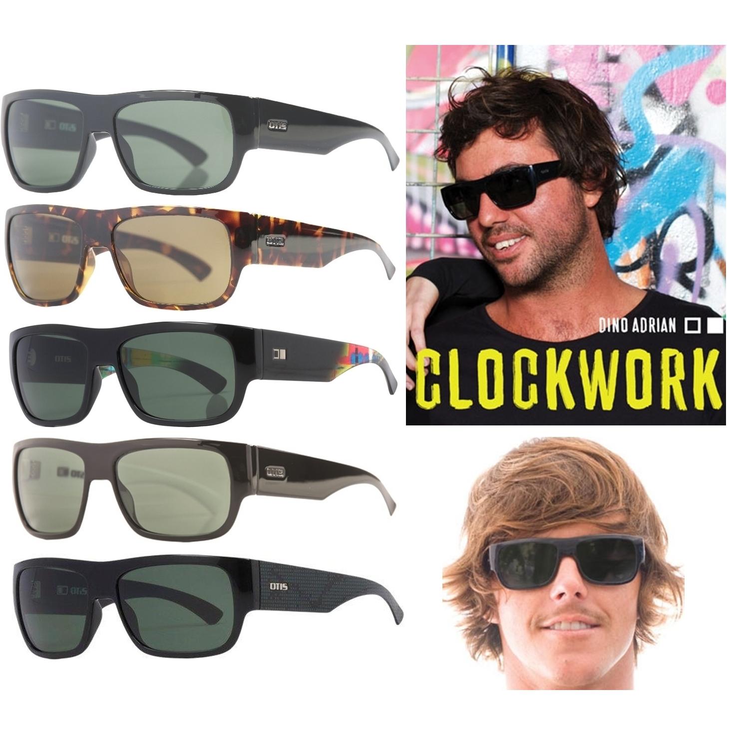 Details about NEW Otis Clockwork Mineral Glass Lens Mens Rectangular  Sunglasses Msrp 160 2a93ad75f