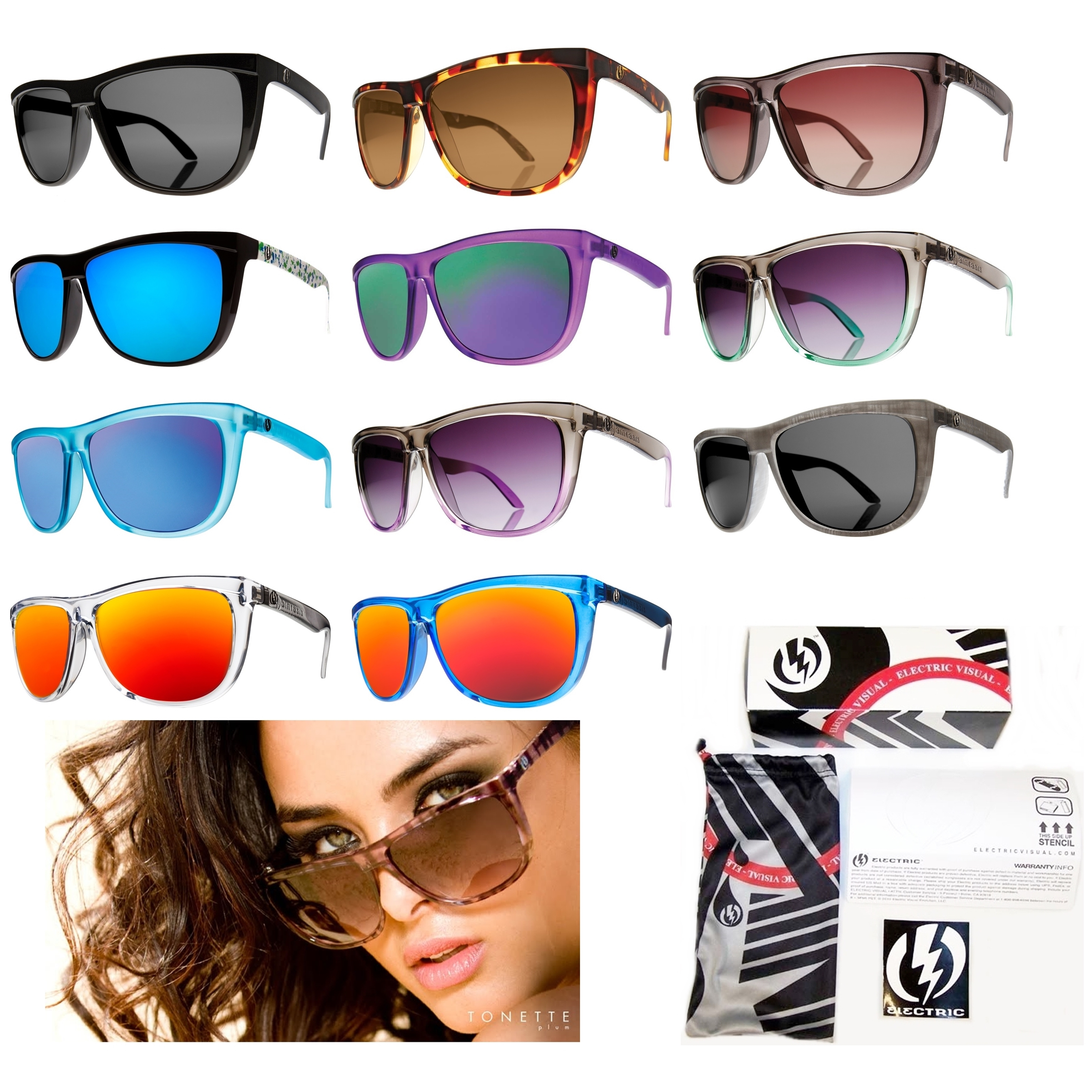 Electric Polarized Sunglasses  electric tonette sunglasses ebay