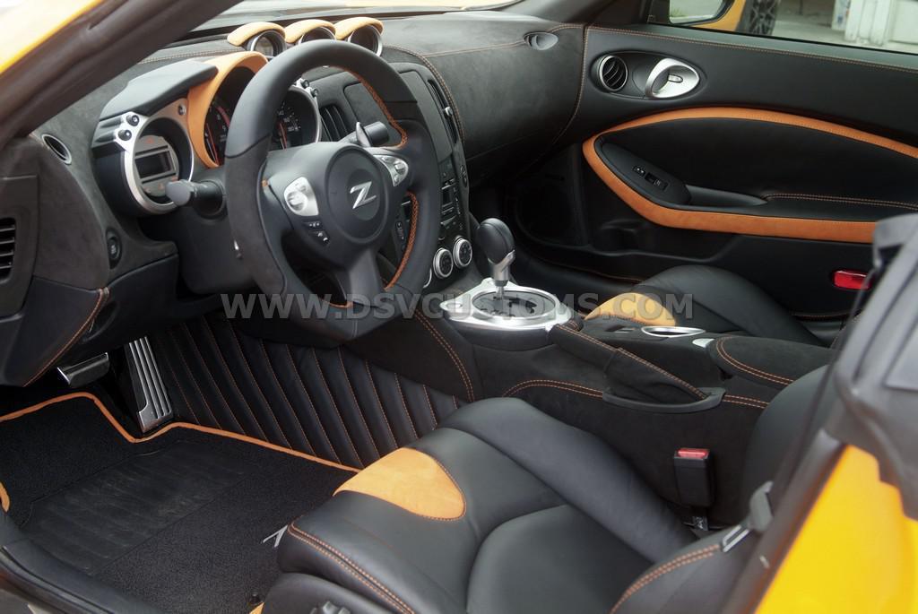 Nissan 370z Modified Interior