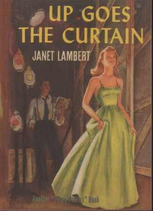 Image for Up Goes The Curtain Janet Lambert