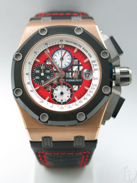 Audemars Piguet Royal Oak Offshore Rubens Barrichello III Gold 2326/2840 Clone