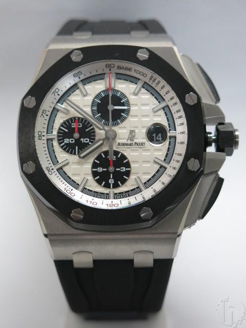 Audemars Piguet Royal Oak Offshore Chronograph SS Rubber Band Clone 3126/3840