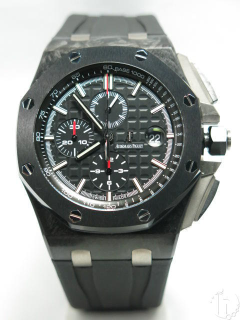 Audemars Piguet Royal Oak Offshore Forged Carbon Chronograph Clone A-3126-3840