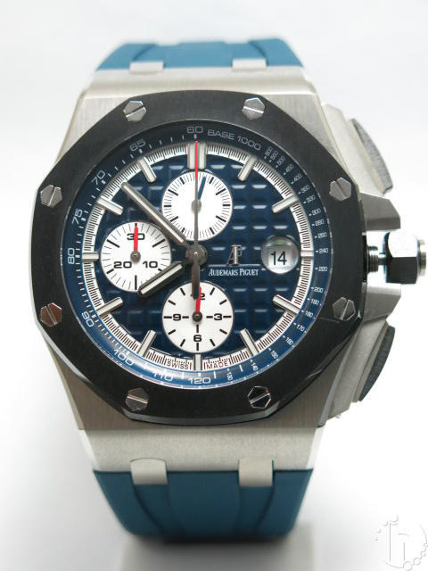 Audemars Piguet Royal Oak Offshore  Ceramic Bezel Chronograph Clone A-3126-3840