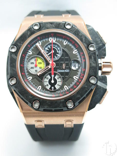 Audemars Piguet Gold Royal Oak Offshore Grand Prix Carbon Bezel Clone A3126-3840