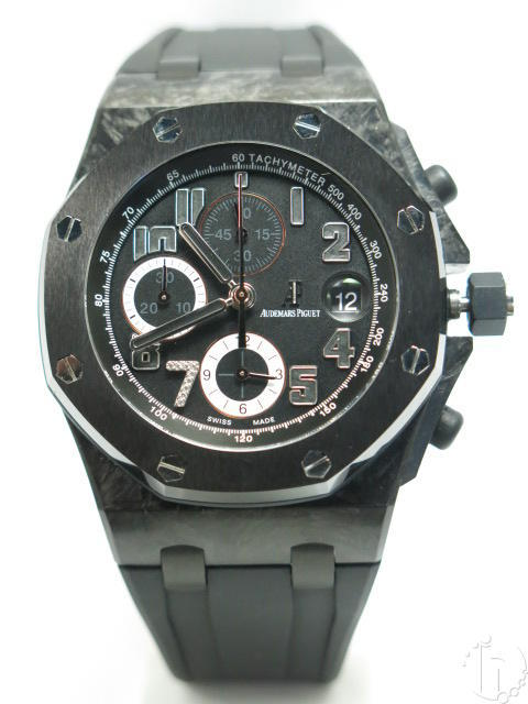 Audemars Piguet Royal Oak Offshore Ginza 7 Forged Carbon Case Clone AP 3126-3840