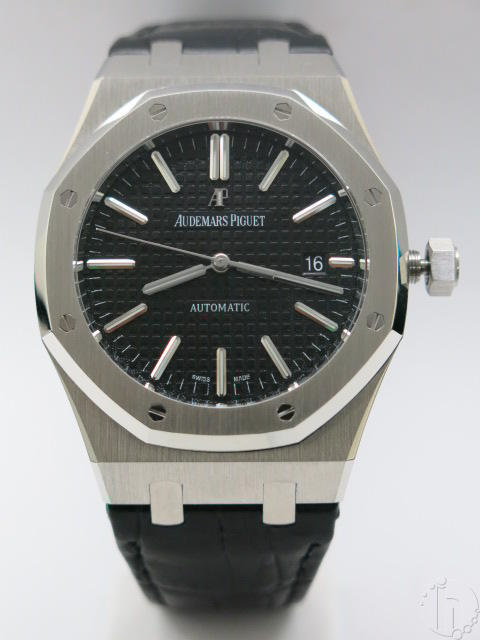 Audemars Piguet Royal Oak Classic 41mm Leather Band Calibre 3120 Clone Automati