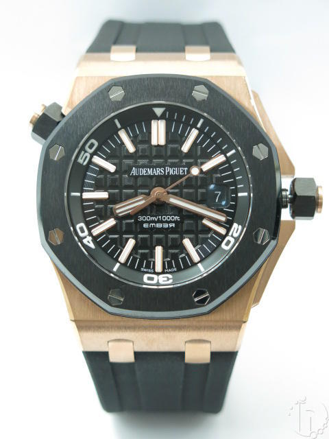 Audemars Piguet Royal Oak Offshore Diver EMBER Rose Gold Limited Edition A-3120