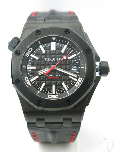 Audemars Piguet Royal Oak Offshore Diver EMBER Limited Edition PVD A3120 CLONE