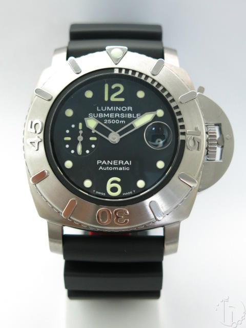 Luminor Panerai Submersible 2500m Titanium Pam 0285 Automatic 7750 Movement