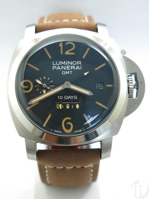 Panerai Luminor 1950 10 Days GMT PAM 0270 Acciaio J-Series