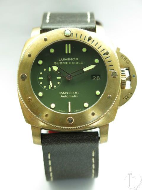 Luminor Panerai 1950 3 Days Submersible Bronzo Pam 0382 P.9000 Clone Movement