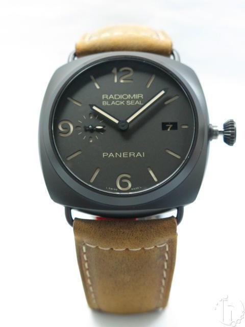 Panerai Radiomir 3 days Black Seal Composite Ceramic Pam505 Clone P9000 Movement