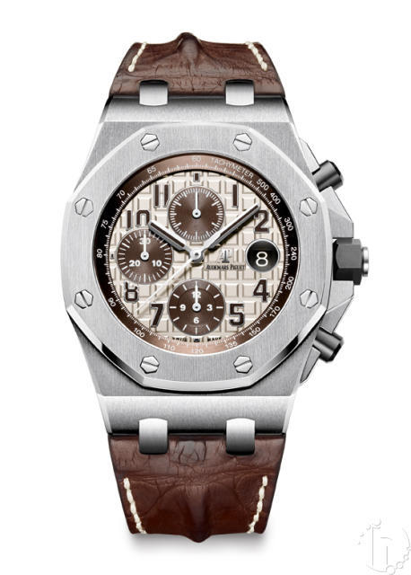Audemars Piguet Royal Oak Offshore Safari 2014 Limited Edition Leather Band 3126