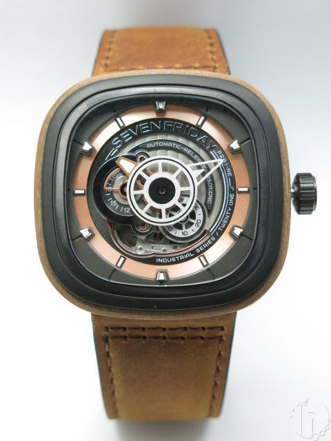 SevenFriday P2B/03-W 'Woody' Limited Edition