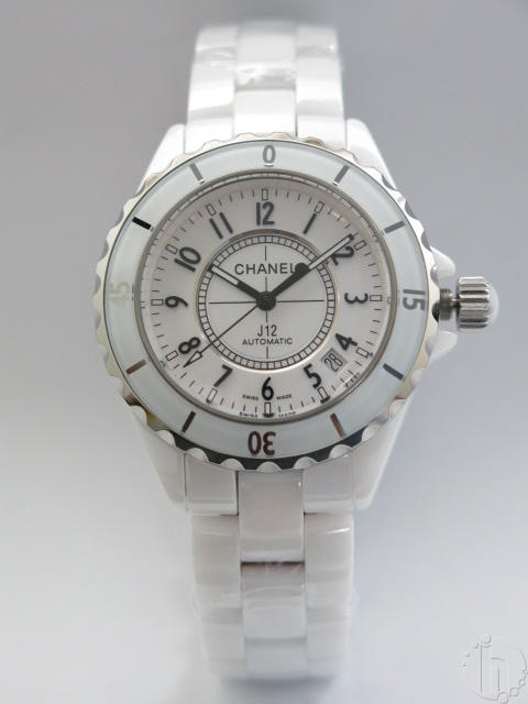 Chanel J12 White Unisex 39mm Ceramic ETA Clone Automatic Movement-Two Dial Types
