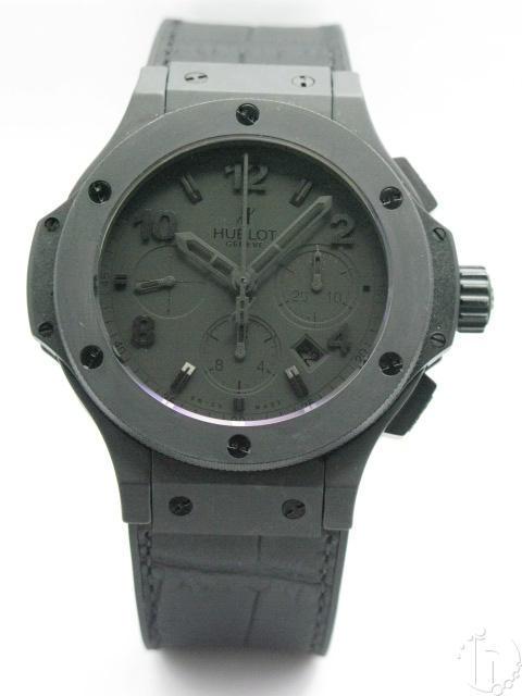 Hublot Big Bang All Black All Ceramic Limited Edition Evolution 7750 Chrono