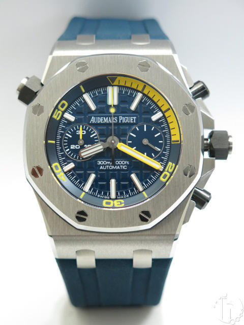 Audemars Piguet Royal Oak Offshore Diver Chronograph Clone AP 3124 Automatic