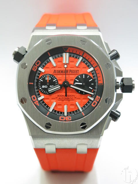 Audemars Piguet Royal Oak Offshore Diver Chronograph Clone AP 3124 Auto Orange