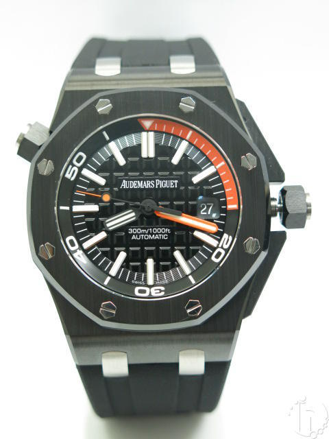 Audemars Piguet Royal Oak Diver Ceramic Clone 3120 Ultimate Version