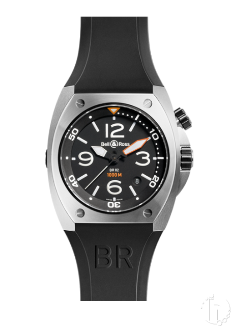 Bell & Ross-BR02 1000m Clone Eta 2824-25 Automatic Movement