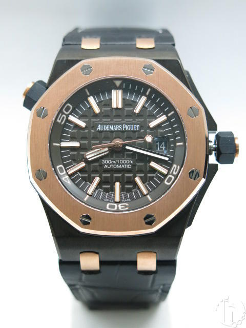 Audemars Piguet QEII Cup Royal Oak Offshore Diver With Clone AP 3120 Movement