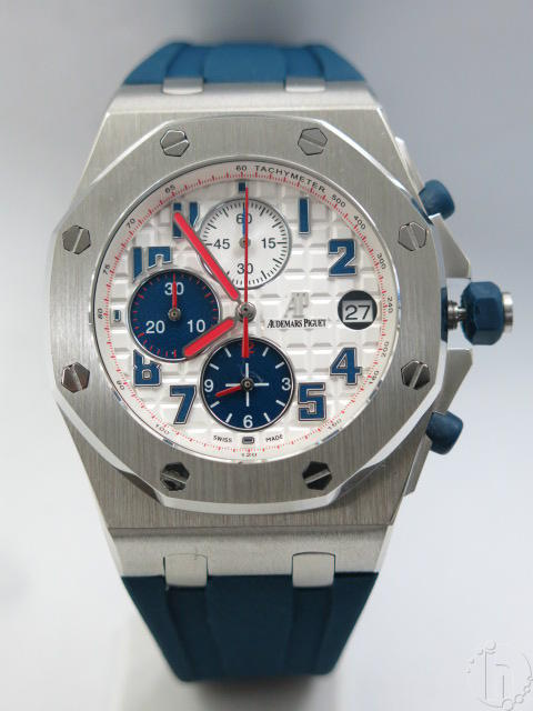 Audemars Piguet Royal Oak Offshore Quartz Chronograph Rubber Two Colored Themes