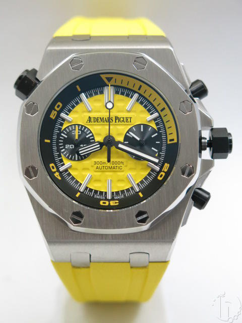 Audemars Piguet Royal Oak Offshore Diver Quartz Chronograph Five Colored Themes