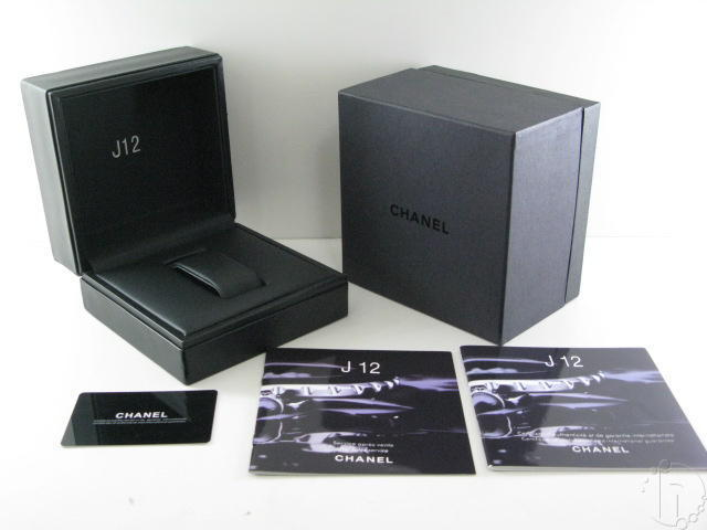 Chanel J12 Style Watch Box Set
