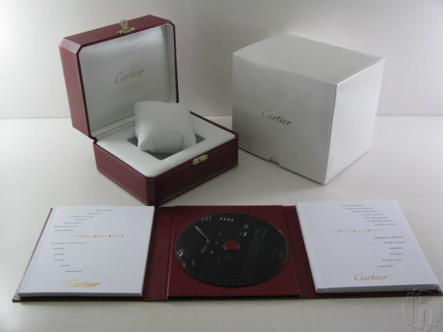 CARTIER BOX SET with instructional CD and booklets