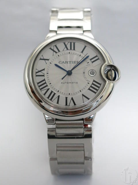 Cartier Ballon Bleu Steel Ladies Edition 28 mm Case Set Eta Quartz Movement