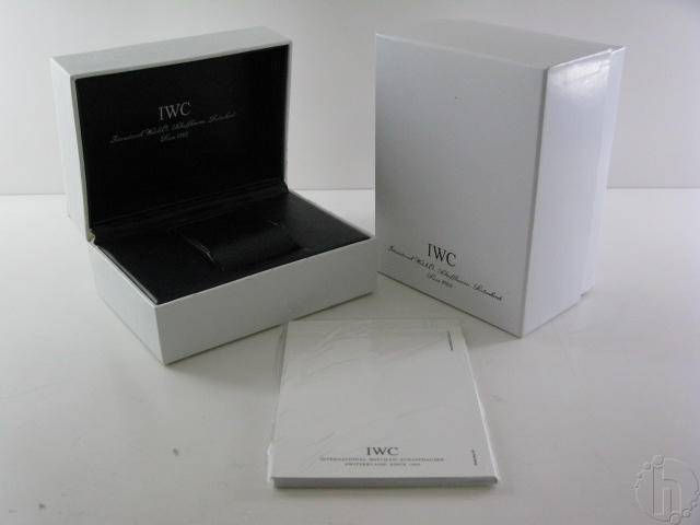 IWC Schaffhausen Watch Box Set