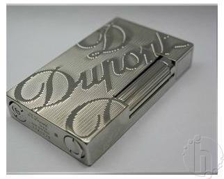 S.T. Dupont Silver Cigarette Lighters
