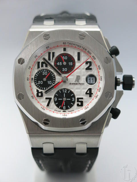 Audemars Piguet Royal Oak Offshore Theme Silver Limited Edition Leather Band 775