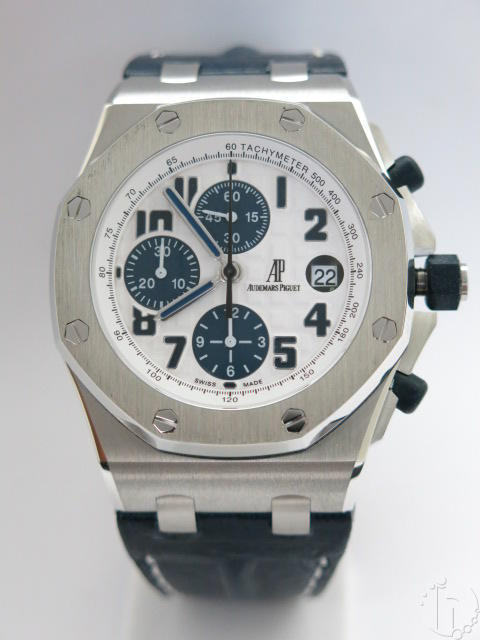 Audemars Piguet Royal Oak Offshore Navy Limited Edition Leather Band 7750 28,800