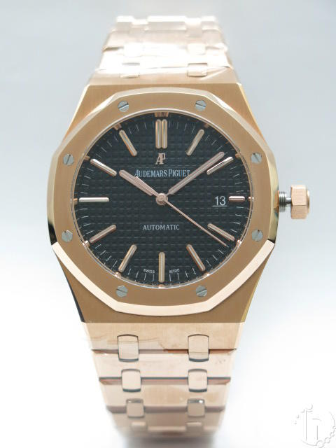 Audemars Piguet Royal Oak Classic 41mm Calibre 3120 Clone Automatic Rose Gold