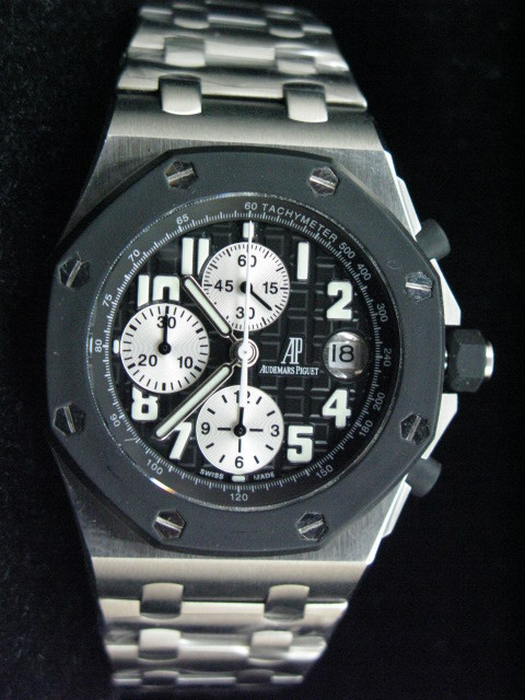 Audemars Piguet Royal Oak Offshore Rubber Bezel 7750 28,800vbh