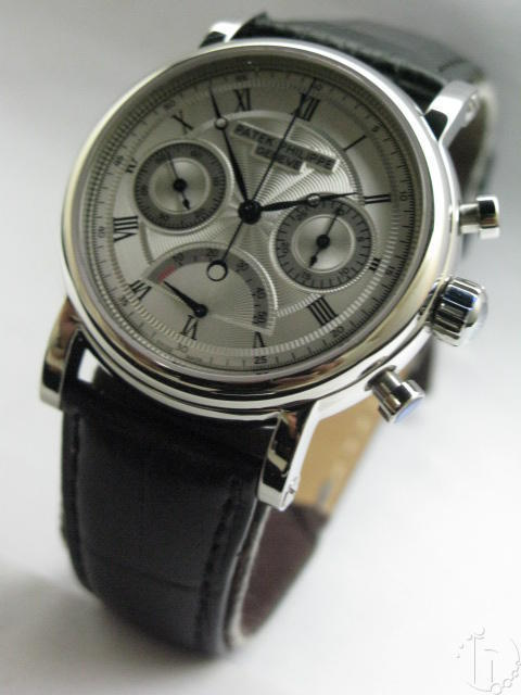 PATEK PHILIPPE POWER RESERVE CHRONOGRAPH-LEMANIA MOVEMENT