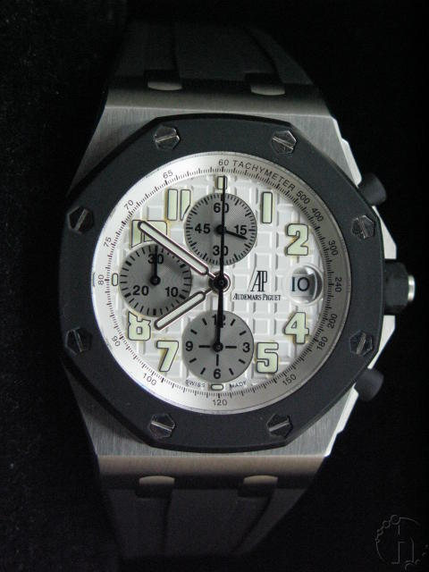 Audemars Piguet Royal Oak Offshore Rubber Strap 7750 28,800vbh