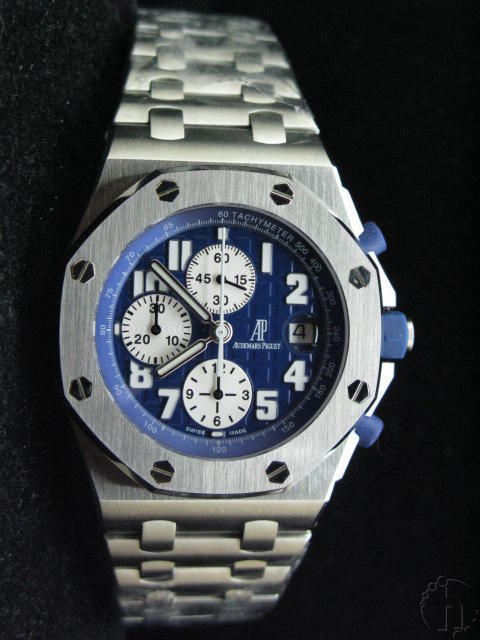 Audemars Piguet Royal Oak Offshore Navy Limited Edition Steel Band 7750 28,800vb