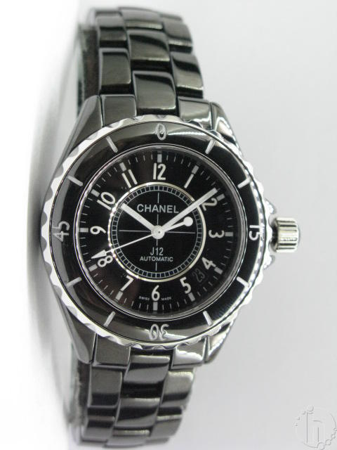 Chanel J12 black Ceramic Swiss Eta Auto Ultimate version
