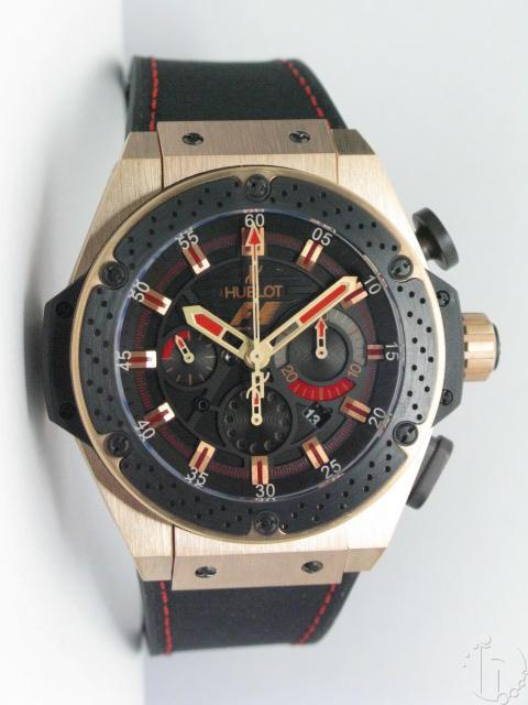 Hublot F1 King Power ROSE GOLD Ltd. Edition Chronograph 7750