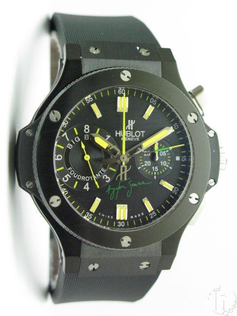 Hublot Ayrton Senna Big Bang PVD Ceramic Chronograph 7750