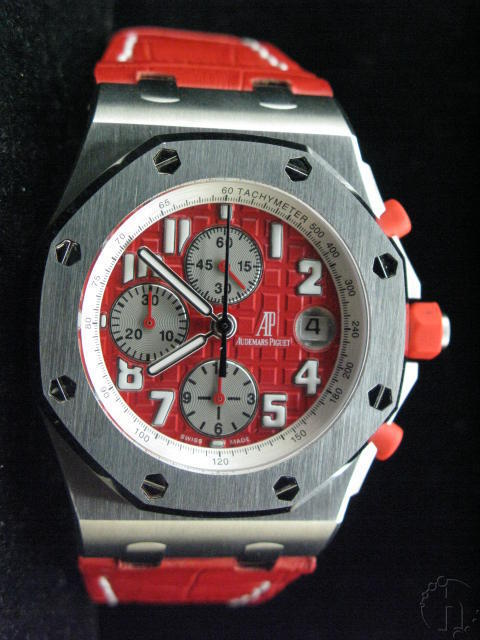 Audemars Piguet Royal Oak Offshore Rhone Fuserie Limited Edition 7750 28,800 vbh