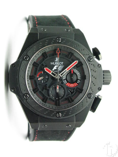 Hublot F1 King Power Ltd. Edition PVD Chronograph 7750