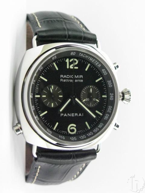 Panerai Pam 214 Radiomir Rattrapante Chronograph 7750