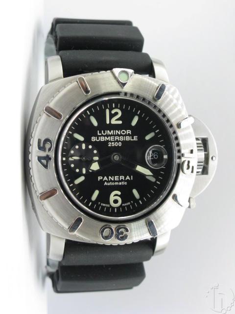 Panerai Luminor Submersible 2500m Pam194 7750b1 28,800vbh