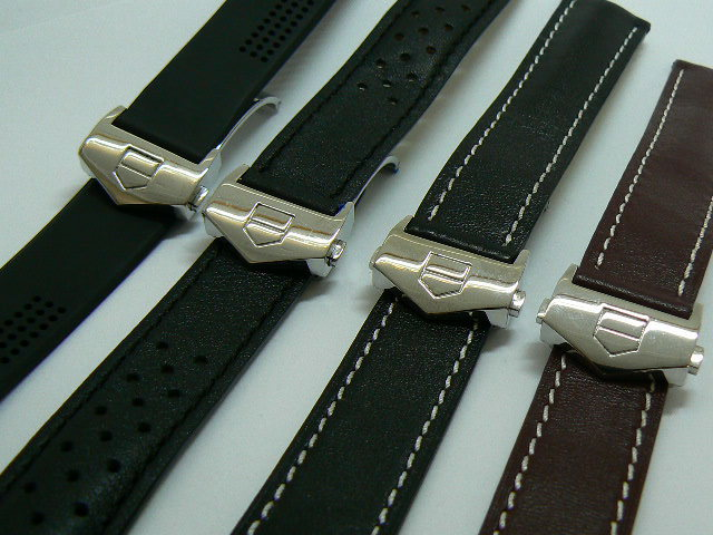 TAG HEUER WATCH BANDS-DEPLOYMENT FASTENER-VARIOUS STYLES