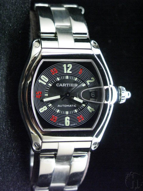 CARTIER ROADSTER EQUIPPED ETA 2824-25